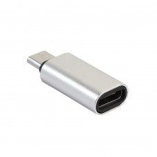 Αντάπτορας Type C male σε Micro USB female, Silver