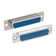 Solder Cup D-Sub Connector, DB25 Female