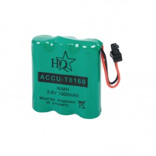 HQ Rechargeable NiMH Battery 3.6 V 1000 mAh